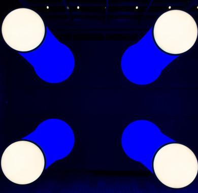 Nem, ezek nem azonosítatlan repül? tárgyak! Csupán az Üvegterem lámpái ragyognak a Müpa egén. #MüpaBudapest #Müpa #Budapest #Hungary #Concerthall #Nightlights #Blues #Lights