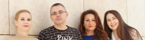 Összhangzat  -  Dragomán György, Szabó T. Anna, Tóth Evelin és Kézdy Luca estje