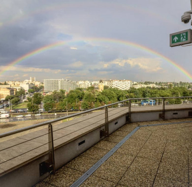 Napfény a vihar után. #MüpaBudapest#Müpa#Hungary#Budapest#Concerthall#Rainbow