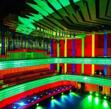 Mikor nemcsak a programkínálatunk színes. #Colour #MVM #Zenergia #MüpaBudapest #Müpa #Budapest #Hungary #Concerthall #BBNH #Lightpainting