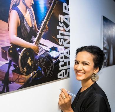 Köszönjük, Anoushka Shankar! #MüpaBudapest #Müpa #Budapest #Hungary #Concerthall #Backstage #AnoushkaShankar