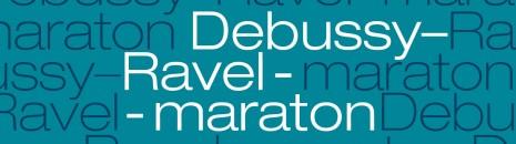 Debussy: Le jet d'eau; 3 Villon ballada; Iberia; Arabesque - filmvetítés