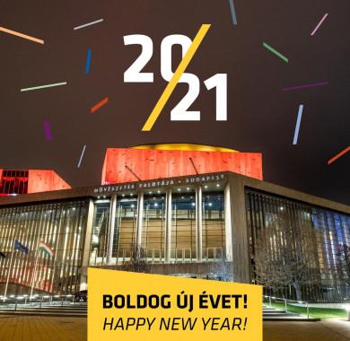 Koncertekben és jó zenékben gazdag, boldog új évet kívánunk! #Newyear #Goodbye2020 #Hello2021 #BÚÉK #MüpaBudapest