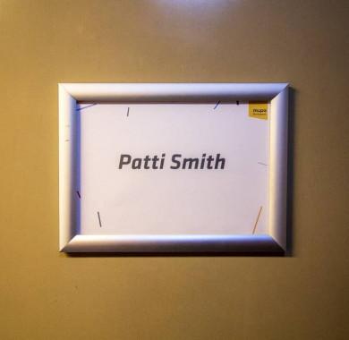 Welcome, Patti Smith! ?