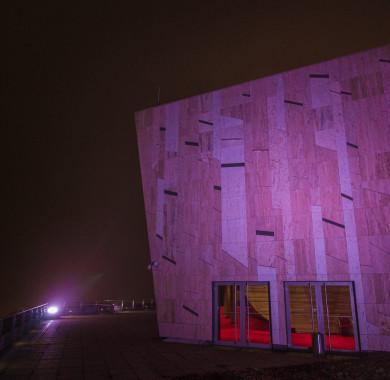 Köd el?ttem, köd mögöttem. #MüpaBudapest #Müpa #Budapest #Köd #Fog #Mist #Mood #Night #Lights #Purple