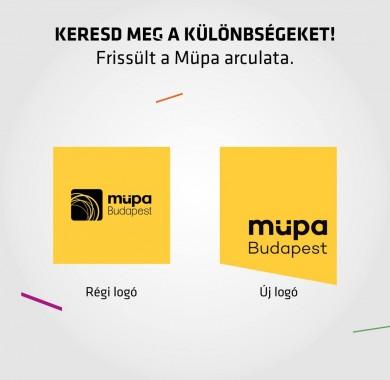 5 év után újra frissítettük a Müpa arculatát!   Modernebb és letisztultabb küls?vel vágunk neki az új évadnak: számos arculati elemünket elhagytuk, néhányat pedig új formában láthattok újra. Észreveszitek az összes módosítást? #Müpa #Budapest #Hungary #Concerthall #Image #Design  Nektek hogy tetszik?